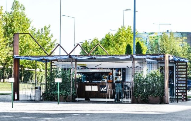 Thiết kế quán cafe không gian mở tại Vinh, Nghệ An
