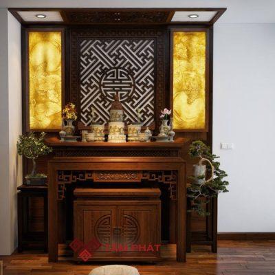 +55 Mẫu bàn thờ đẹp | Bàn thờ gia tiên mới nhất 2021